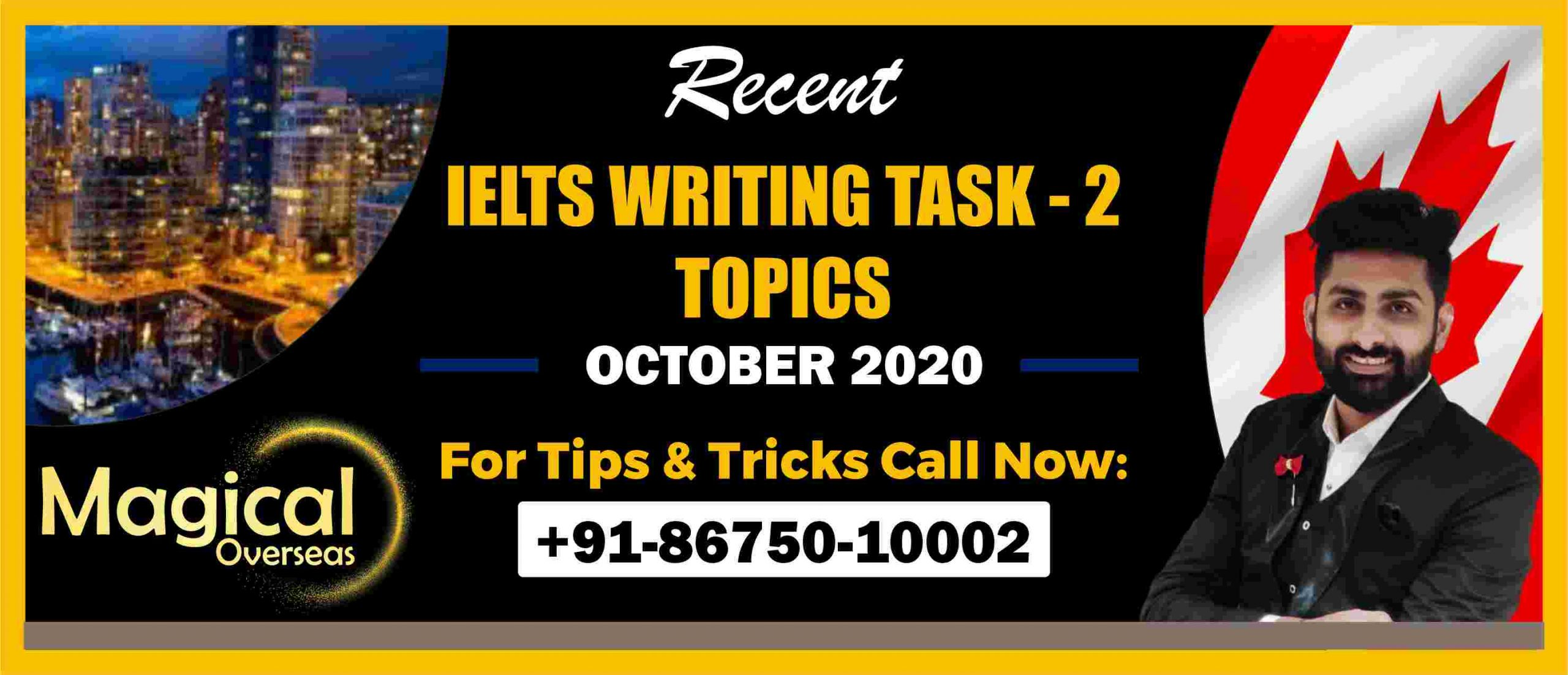 Writing Task 2 Topics October 2020-min